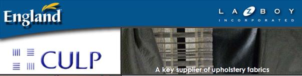 Culp Fabrics - England Furniture Company Suppliers