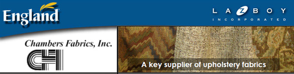 Chambers Fabrics - England Furniture Company Suppliers