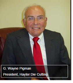 G. Wayne Pigman - England Furniture Company Suppliers